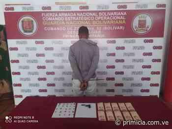 Aprehendidos por microtráfico de drogas en Caicara del Orinoco y San Félix - Diario Primicia - primicia.com.ve