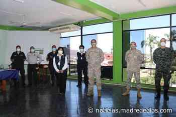 ODPE Tambopata coordina medidas de seguridad con las FF.AA y la PNP para comicios del 11 de abril - Radio Madre de Dios