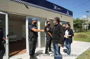Vicente López suma un nuevo destacamento policial en Florida Oeste - elcomercioonline.com.ar