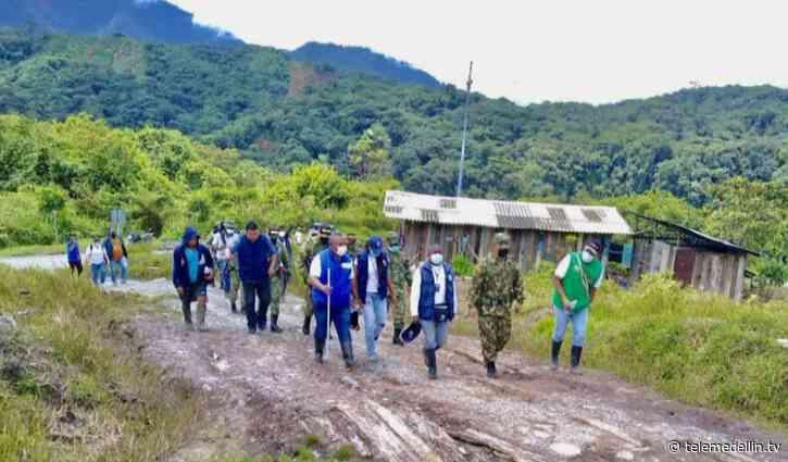 Indígenas liberaron a soldados retenidos en Carmen de Atrato, Chocó - Telemedellín