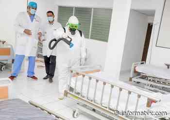 Ministerio de Salud realiza jornada de higienización en hospital General de Suchitoto - InformaTVX - Noticias El Salvador