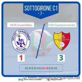 Volley Serie B: l'MGR Grassobbio impaurisce Scanzo ma cade 1-3 - Comunicati-Stampa.net
