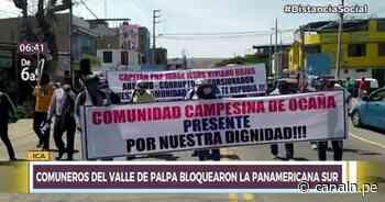 Comuneros del Valle de Palpa exigen la renuncia de comisario involucrado en minería ilegal - Canal N