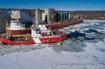 Icebreaking operations start in Manitoulin, Bruce Mines, Thessalon this week - ElliotLakeToday.com