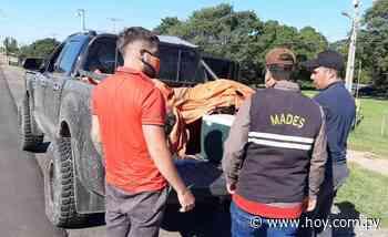 Incautan pescados y redes tras controles en Villeta - Hoy