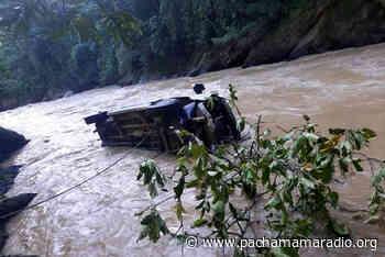 Reportan pasajeros desaparecidos en el rio Tambopata jurisdicción de San Juan del Oro (Sandia) - Pachamama radio 850 AM