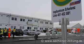 Sturm: Impfzentrum in Erkelenz stellt Betrieb am Donnerstag ein - Aachener Zeitung