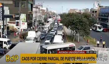 Puente Bella Unión: reportan intenso tráfico vehicular por segundo día consecutivo   Panamericana TV - Panamericana Televisión