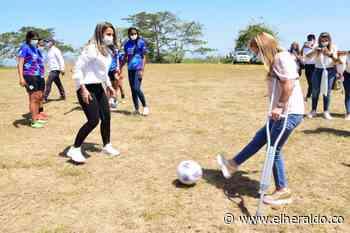 Piojó tendrá una cancha para fútbol femenino - EL HERALDO