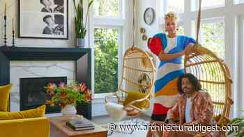 Step Inside Emmy Raver-Lampman and Daveed Diggs's Colorful Southern California Home - Architectural Digest