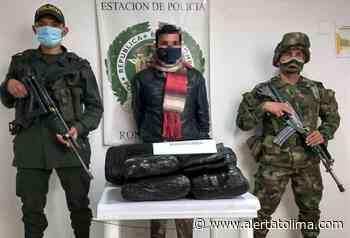 Se creía El Renegado cargando en su moto 40 mil dosis de marihuana en Roncesvalles - Alerta Tolima
