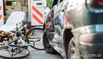 En Sogamoso fallece joven ciclista en accidente de tránsito - Caracol Radio