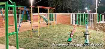 En Tepalcingo inauguran parque en otrora basurero - Diario de Morelos