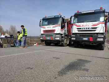 Ponte sulla Dora a Saluggia promosso dai test di carico - Prima Vercelli