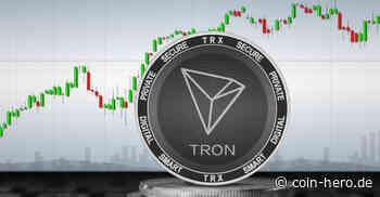Tron (TRX) Kurs könnte auf 0,043 US-Dollar fallen - Coin-Hero