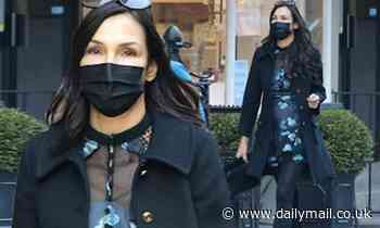 Famke Janssen steps out in the Soho neighborhood of New York - Daily Mail