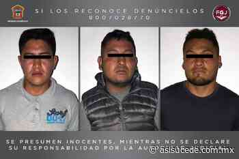 Vinculan a proceso a tres hombres por robo a cuentahabiente de Ixtapaluca - Noticiario Así Sucede