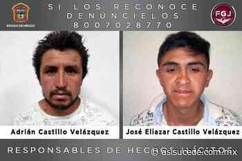 55 años de prisión a dos hermanos por homicidio en Ixtapaluca - Noticiario Así Sucede