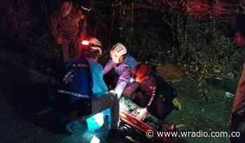 En Marmato, Caldas a un hombre le prendieron fuego después de haberle rociado combustible - W Radio