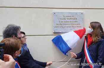 À Levallois-Perret, la petite allée perpétuera le souvenir de Cécile Vannier tuée dans un attentat - Le Parisien