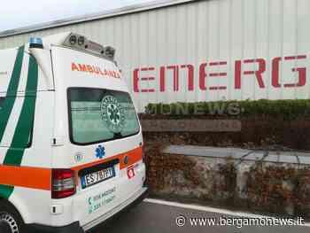 Martedì Gamba schiacciata sotto un serbatoio: l'infortunio alle Officine di Carvico - BergamoNews.it