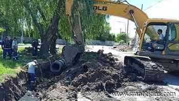 Tigre: Con inversión municipal, avanza una nueva obra hidráulica en General Pacheco - SMnoticias