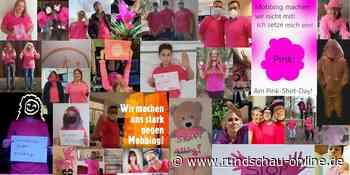 Solidarität in Eitorf: Schüler tragen T-Shirts in Pink als Zeichen gegen Mobbing - Kölnische Rundschau