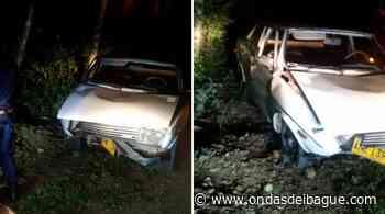 Aparatoso accidente en la vía Ortega - Guamo dejó a dos personas heridas - Ondas de Ibagué