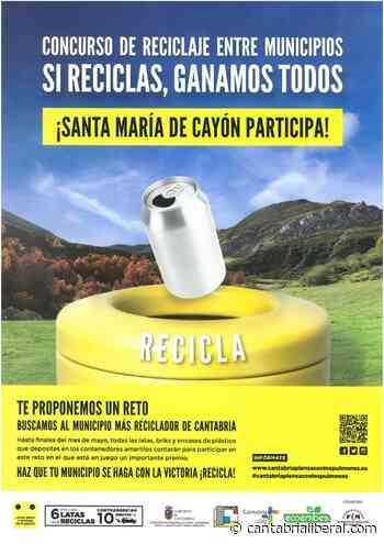 Santa Maria de Cayón participa en el concurso de reciclaje entre municipios - cantabrialiberal