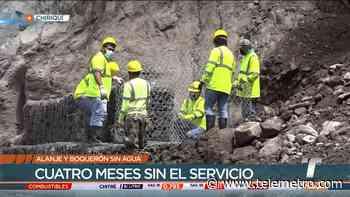 Más de 30 mil personas de Alanje y Boquerón sin agua potable - Telemetro