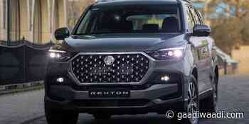 2021 SsangYong Rexton Facelift Gets New Face And More Power - GaadiWaadi.com