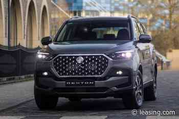 2021 Ssangyong Rexton: Seven-seat SUV gets a rework | Leasing.com - Leasing.com