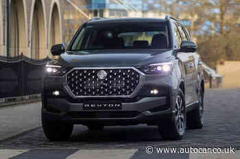 2021 Ssangyong Rexton updated and gains more power - Autocar