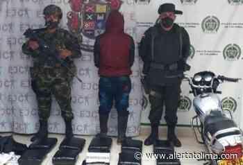 Los pillaron con 65 kilos de marihuana en Nátaga - Alerta Tolima