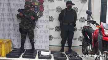 Autoridades incautaron 65 kilogramos de marihuana en Nátaga - Huila