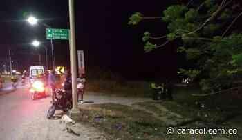 Asesinan hombre en vía a Galapa - Caracol Radio