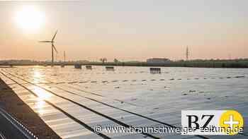 Der Solarpark bei Cremlingen wird erweitert - Braunschweiger Zeitung