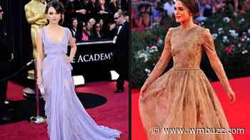 Hollywood Divas: Mila Kunis And Keira Knightley In Best Elegant Evening Dresses - IWMBuzz
