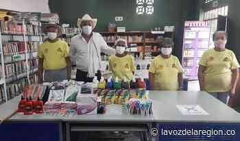 Adultos mayores de Paicol recibieron ayudas didácticas - Huila