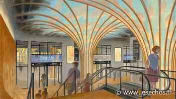 La Défense : le centre de congrès du CNIT transformé en forêt souterraine - Les Échos