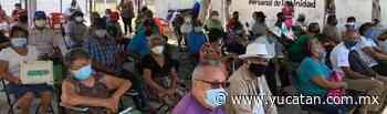 Vacunados, 1,100 adultos de Tixkokob - El Diario de Yucatán