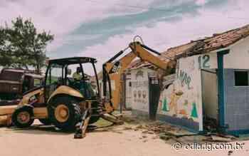 Quiosque na Praia das Conchas é demolido por decisão da justiça - Jornal O Dia