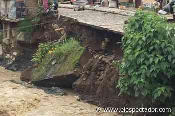 Al menos 500 familias damnificadas por lluvias en Vigía del Fuerte (Antioquia) - El Espectador