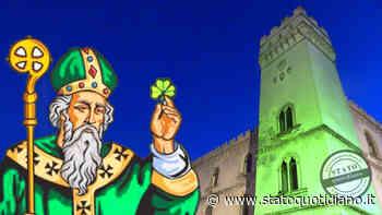 Vico del Gargano, il Palazzo della Bella si illumina di verde per la Festa di San Patrizio - StatoQuotidiano.it