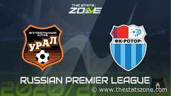 2020-21 Russian Premier League – Ural vs Rotor Volgograd Preview & Prediction - The Stats Zone