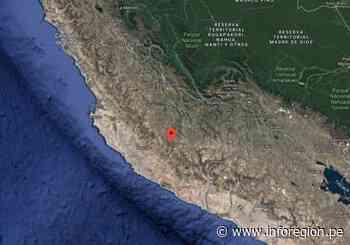 Ayacucho: Registran sismo en Puquio – Inforegion - INFOREGION