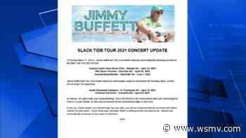 Jimmy Buffett reschedules May concert in Nashville - WSMV Nashville