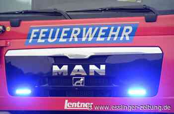 Einsatz in Neckartailfingen: Brandalarm in Firma - esslinger-zeitung.de