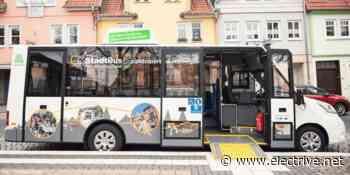 Vier E-Midi-Busse in Heilbad Heiligenstadt in Betrieb - www.electrive.net