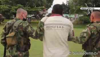 Ejército rescata a tres campesinos en zona rural de Buriticá - Telemedellín